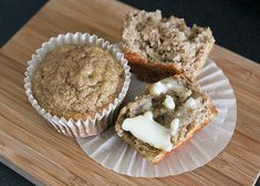 Banana Applesauce Muffins | 27 Healthy Breakfasts Under 400 Calories For When You're In A Rush