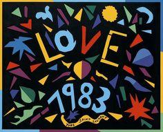 1983 Yves Saint Laurent vintage love note.