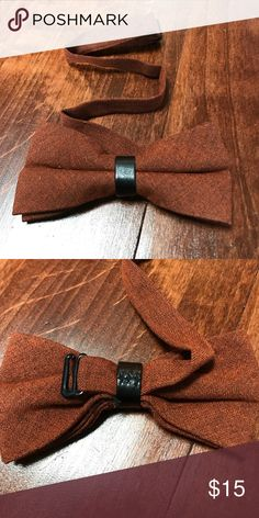 New pre-tied adjustable bow tie child or adult New, never worn. High quality flannel-like material. Can adjust all the way from adult to child's neck size. Accessories Ties