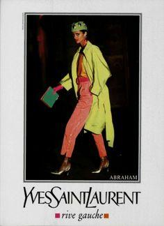 1991  - Yves Saint Laurent Rive Gauche adv - Heather by Arthur Elgort
