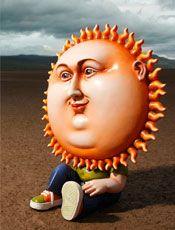 El sol pavel by Sergio Bustamante.