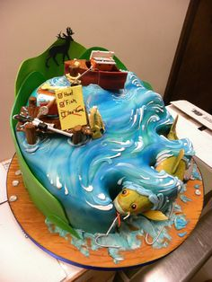 Really Cool Fishing Cake