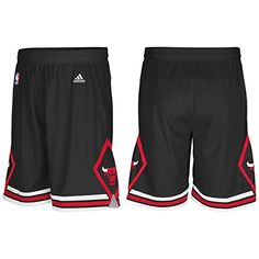 90dc581b9e17e Adidas Chicago Bulls Alternate Black Swingman Shorts.  dansbasketball   basketball  adidas  bulls