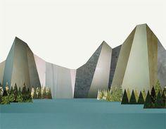 liesl pfeffer geometric landscape graphic