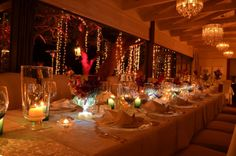 Tintswalo Atlantic - Where else in the world? Wedding Venue Decorations, Wedding Venues, Wedding Ideas, Table Decorations, Table Settings, Kiss, Weddings, Bride, Home Decor
