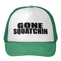 Cover your head with a customizable Gone Squatchin hat from Zazzle! Shop from baseball caps to trucker hats to add an extra touch to your look! Finding Bigfoot, Irish Hat, Bald Man, Funny Hats, Custom Hats, Happy Campers, Ems, Baseball Hats, Geek Stuff