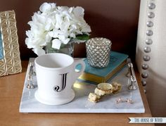 An easy DIY to make an otherwise expensive home accessory.