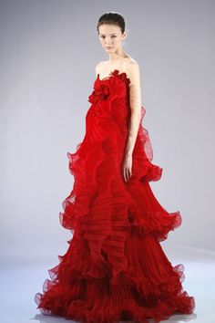 FALL 2008 READY-TO-WEAR  Marchesa  Alex Sandor