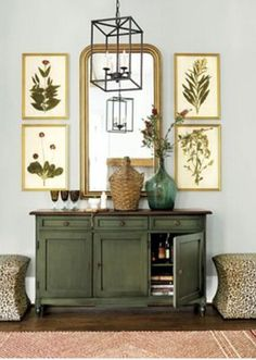 Shop for a stylish sideboard or kitchen pantry storage buffet. Find your favorite casual table or server for the dining room, behind a sofa or in the entry. Shop sideboards and kitchen and kitchen storage furniture at Ballard Designs today! Green Painted Furniture, Chalk Paint Furniture, Side Board, Furniture Makeover, Diy Furniture, Furniture Storage, Painted Sideboard, Ballard Designs, Furniture Inspiration