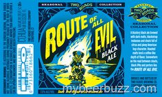 mybeerbuzz.com - Bringing Good Beers & Good People Together...: Two Roads - Route Of All Evil Black Ale