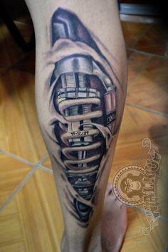 biomecanico (biomechanical)tattoo