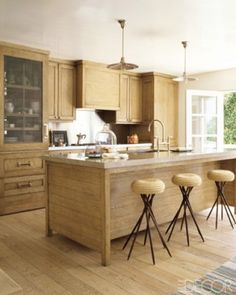Jeffery Alan Marks warm & cozy kitchen.. it looked great on the show.