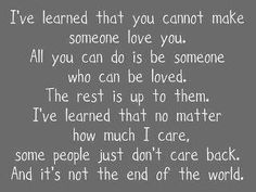 lessons...