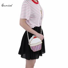 Kawaii Korean Style Cute Girls Ice Cream Bag Fashion PU Leather Small Cake Handbags Pencil Shaped Women Messenger Crossbody Bags #>=#>=#>=#>=#> Click on the pin to check out discount price, color, size, shipping, etc. Save and like it!