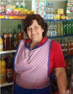 A microcredit client of Grameen Aval in Bogota, Colombia.