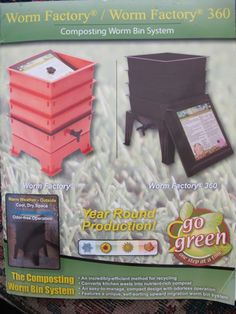 I WANT A WORM FARM!!!