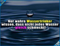 Wahrer Wassertrinker