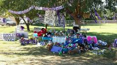 The memorial the day after the candlelight vigil....7/12/14
