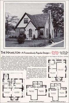 Vintage house plan