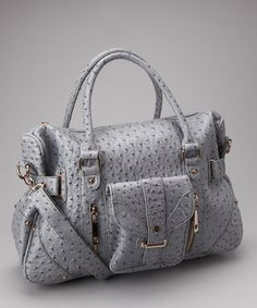 Take a look at this Gray Pocket Tote by Segolene Paris on #zulily today!