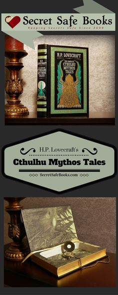 Iä! Iä! Cthulhu Fhtagn! The Complete Cthulhu Mythos Tales Secret Safe Book features: - Magnetic closure (so your secrets will stay secrets even when your book is upright) Precision handcrafted secret