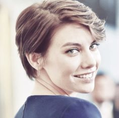 Lauren Cohan's adorable short haircut!