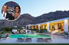 The Obamas stayed at the home of WH decorator Michael Smith & his partner, James Costos, ambassador to Spain & Angora, before joining Richard Branson on his Caribbean island...