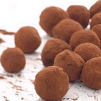 Rich Expresso ChocolateTruffles for New Year's Eve!