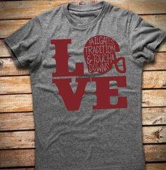 Football Love Tshirt // Football Mom Shirt // Football Tshirt