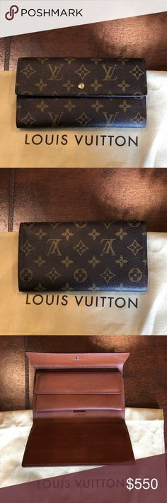 9492893c0cc6 Authentic Louis Vuitton wallet. Like new Authentic Louis Vuitton wallet  Louis Vuitton Bags Wallets