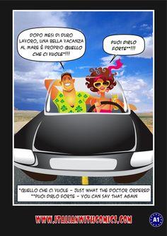 """Idioms of the day: """"Quello che ci vuole"""" and """"Puoi dirlo forte""""."""
