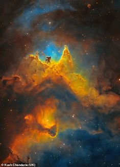 The Soul of Space (Close-up of the Soul Nebula) Andrew Mccarthy, Stonehenge, Polo Sul, New Zealand Image, China Image, Star Trails, Uk Images, Light Pollution, Magic City