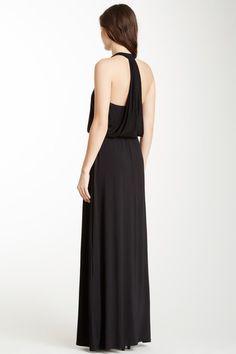Bordeaux Cleo Maxi Dress
