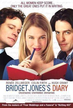 Bridget Jones Diary - Renee Zellweger, Colin Firth, and Hugh Grant Bridget Jones Diary Movie, Bridget Jones's Diary 2001, Hugh Grant, Renee Zellweger, Movies To Watch, Good Movies, Girly Movies, Films Cinema, Bon Film