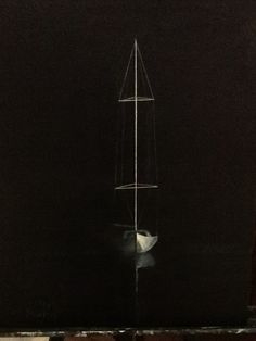At anchor 2014 acrylic (sold Anchor, Paintings, Anchors, Painting, Anchor Bolt, Draw, Portrait, Resim, Drawings