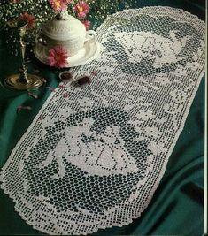 Kira scheme crochet: Scheme crochet no. 2585