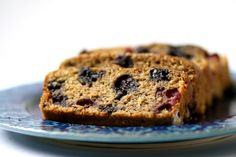 Blueberry Zucchini Bread...