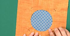 Reverse Appliqué Is A Fun Way To Give Your Project A New Look!