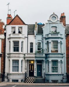 Houses at Chelsea Wharf in London photographed by Dave Burt