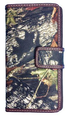 Official Mossy Oak Women Camo Wallet Ladies Camo Western Wallet with Camo Cutie Bt-4