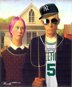 American Gothic Parody by LaunchPro
