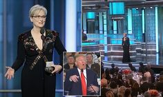 Trump fires back at Meryl Streep and calls her 'one of the most over-rated actresses in Hollywood' after she labels him a 'disrespectful bully' in searing Golden Globes speech