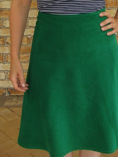 Quarter circle skirt tutorial