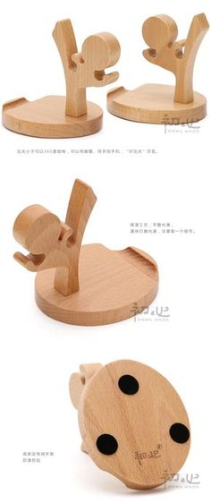 Wooden Stand Holder for Mobile Phone Cell iphone ipad Tablet Kungfu-in Holders… Wooden Projects, Wooden Crafts, Diy Wood Projects, Diy And Crafts, Projects To Try, Woodworking Plans, Woodworking Projects, Coque Ipad, Support Telephone