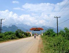 Vang Vieng entrance