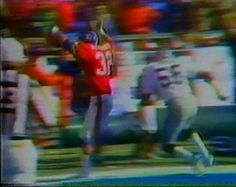 Running back JON KEYWORTH (32) for the touchdown!!  AFC Championship January 1, 1978
