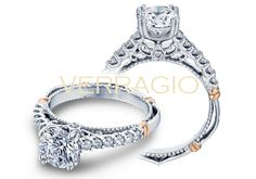PARISIAN-103M engagement ring from The Parisian Collection of diamond engagement rings by Verragio