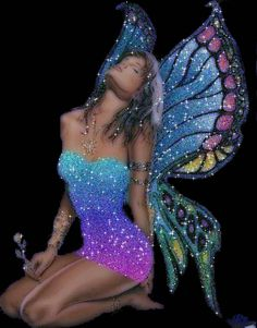 pictures of colorful fairies | ... .org/english-graphics/magical-mystical/awesome-fairy-glitter-graphic