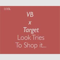 How many of you struggled to buy something from the #VBxTarget collection?  We spent almost all of Sunday refreshing the website and STILL didn't get what we wanted  @victoriabeckham please restock soon?  #LookLive #LookFashion #VBxTarget  via LOOK MAGAZINE OFFICIAL INSTAGRAM - Fashion Campaigns  Haute Couture  Advertising  Editorial Photography  Magazine Cover Designs  Supermodels  Runway Models