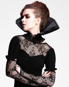 Gothic Queen Style Collar